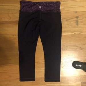Brand new Lululemon crop leggings
